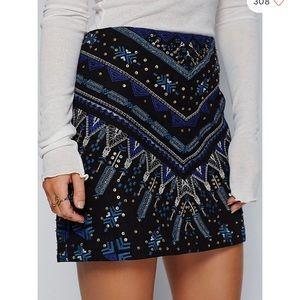 Free People Mercury Retrograde Mini Skirt